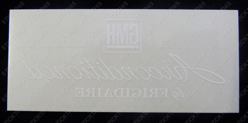 Air Conditioned Rear Window Decal - HK HT HG