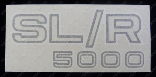 SL/R 5000 Boot and Guard Decal