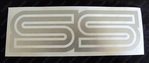 HQ SS Guard Decal - Cutom Silver