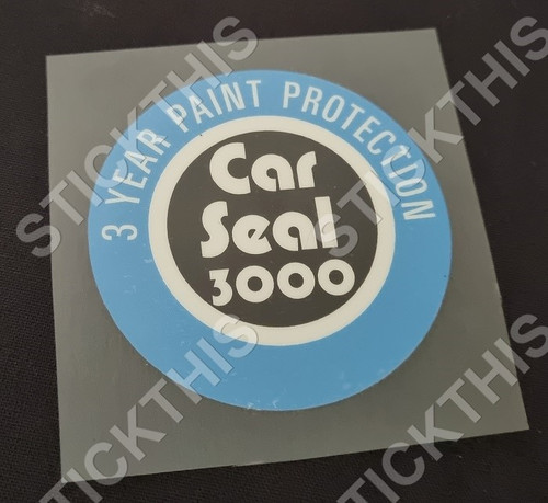 Ming Car Seal 3000 3 Year Paint Protection Decal