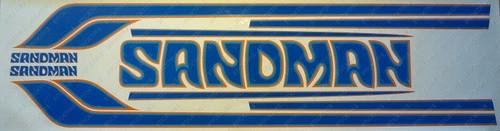 Sandman Stripe and Decal Kit , DY2 (Orange, Bright Blue, Blue) - HX, HZ