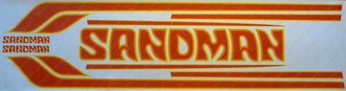Sandman Stripe and Decal Kit , DY3 (Yellow, Orange, Mid Red) - HZ