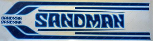 Sandman Stripe and Decal Kit , DX5 (Light Blue, Mid Blue, Dark Blue) - HZ