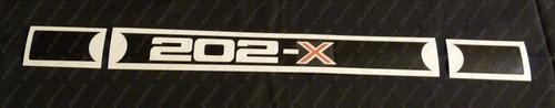 Rocker Cover Decal - 202-X