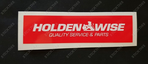 Holden Wise Quality Service & Parts