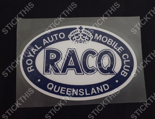 RACQ Decal - Royal Automobile Club of Queensland