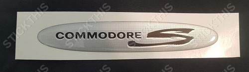 Holden VS III Ute or VT S Pack Boot/Tailgate Badge/Emblem/Decal