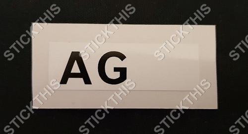 Picking Label AG - WB Brake Booster (excluding Statesman)