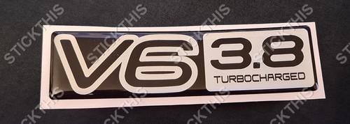 VP Guard Boot Badge V6 3.8 Turbocharged