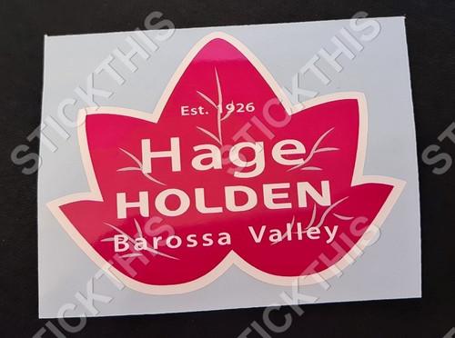 Hage Holden Barossa Valley SA