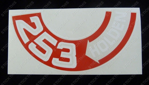 253 Air Cleaner Decal - HT HG