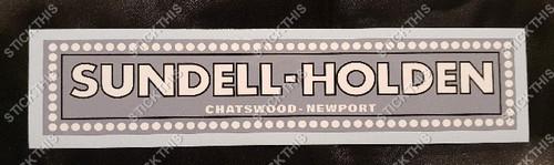 Sundell Holden Chatswood Newport NSW