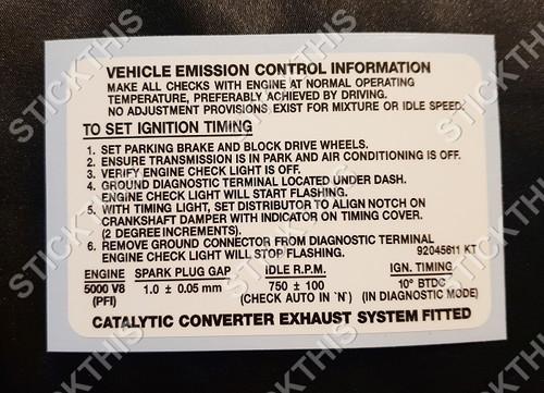Emission Decal, VR and VS - V8