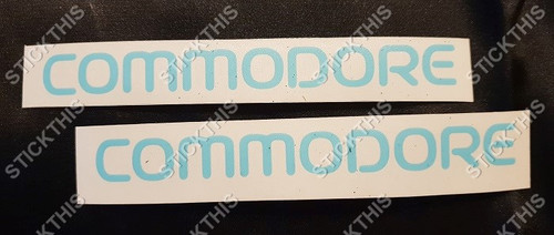 VR VS COMMODORE Body Mould Paint Masks (1 pair)