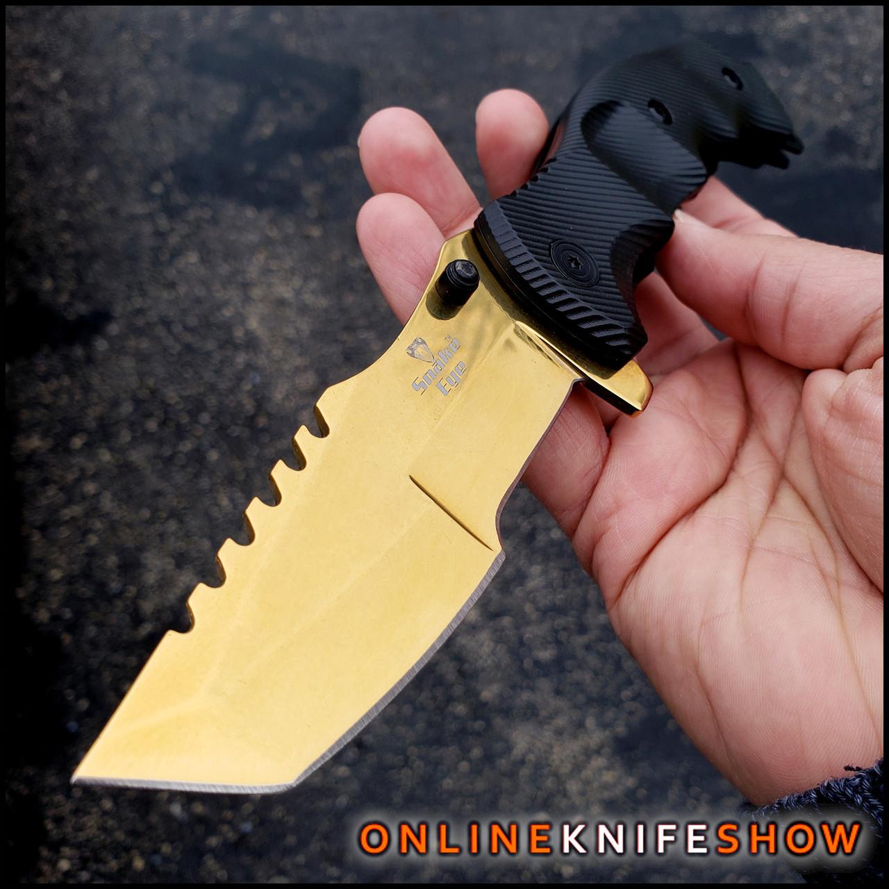 Gold Colored Pocket Knife