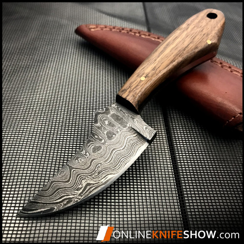 DM-1131WH_damascus_steel_hunting_knife_fixed_blade