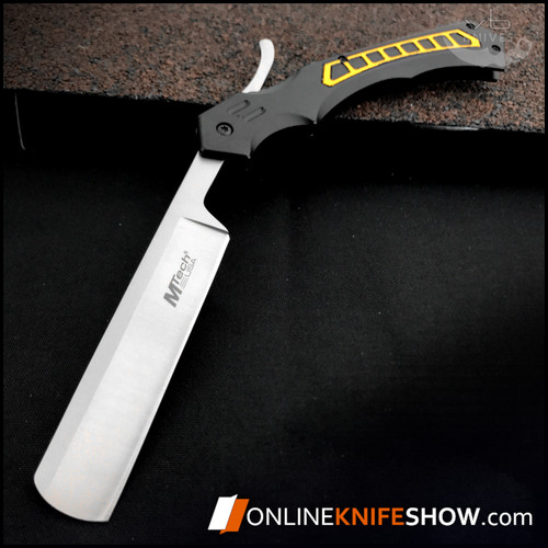 MT-1007YL_mtech_folding_pocket_knives_straight_barber_razor