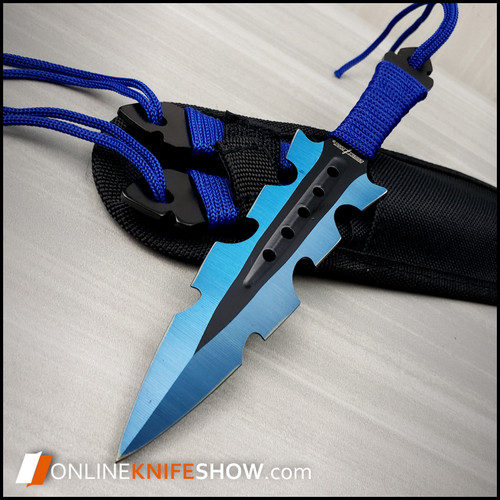 PP-110-3BL_tactical_throwing_knives_for_sale_fixed_blade_rainbow