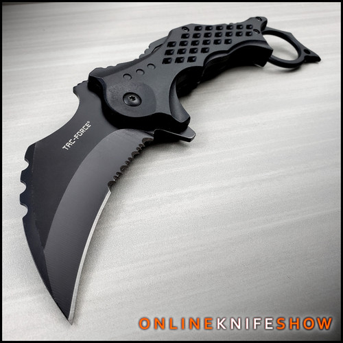 TF-945BK-Tactical-Karambit-Knife-Spring-Assited-Pocket-Blade