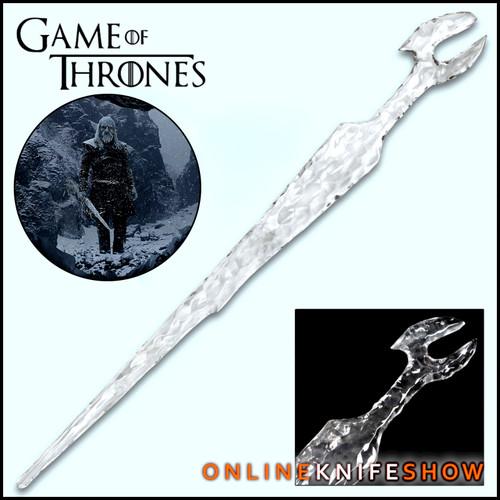 42in Game Of Thrones White Walker Ice Sword