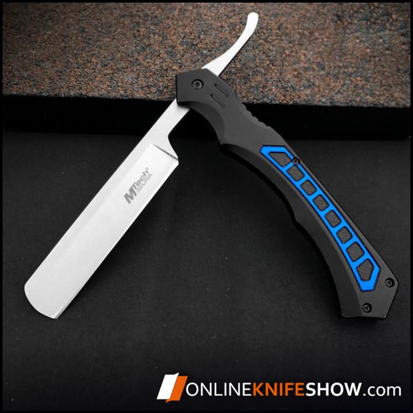MT-1007BL_mtech_folding_pocket_knives_straight_barber_razor