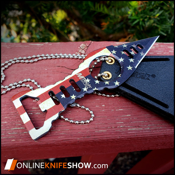 mt-20-27f-mtech-usa-fixed-blade-american-flag-neck-knife