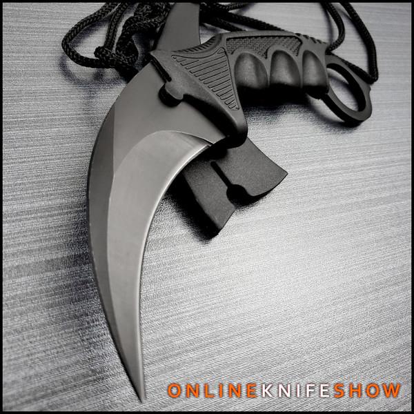 sz-211431-bk-fixed-blade-karambit-knife-cs-go-csgo