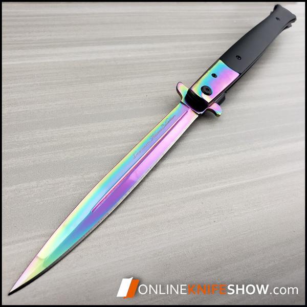 se-936rb-rainbow-snake-eye-large-italian-stiletto-knife-for-sale