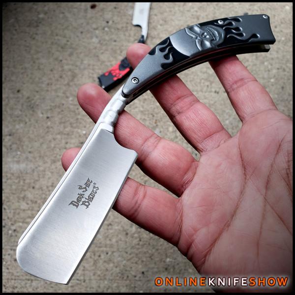 ds-082gy-barber-straight-edge-razor-folding-pocket-knife