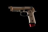 140mm Magazine Extension for Beretta 92/M9  Mecgar 18 Rd