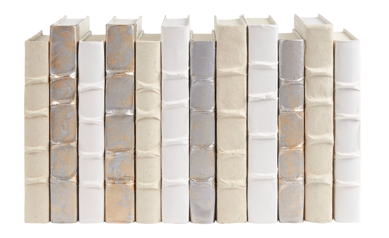 12 Vol Rb White Rb Cream Gold W Silver Overlay Assorted Covers 7 5 9 5