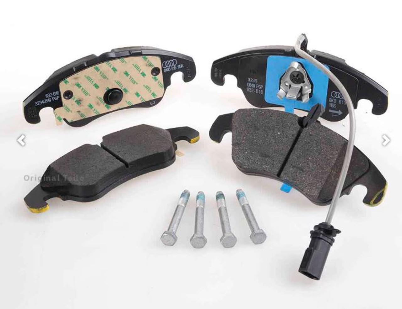 Audi front brake pad kit 8R0698151