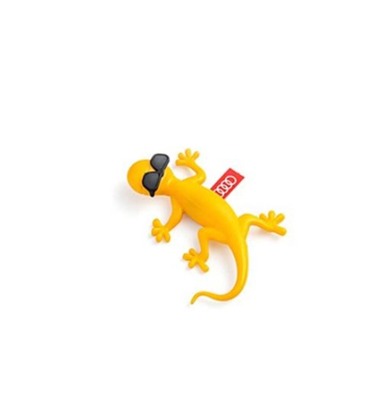 Genuine AUDI Gecko Air Freshener - Yellow/Sunglasses 000087009AR