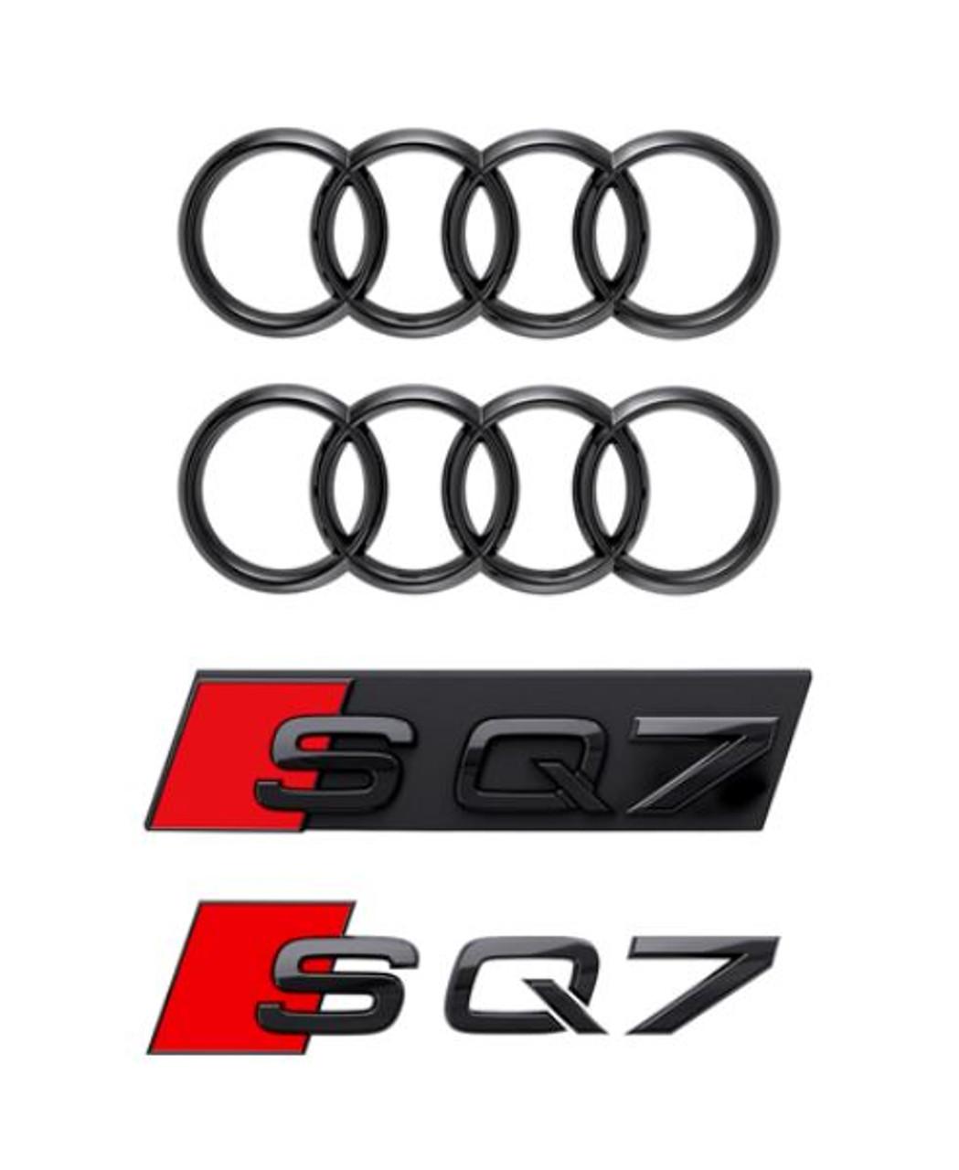 Genuine Audi Black Badge Kit - SQ7 2020+