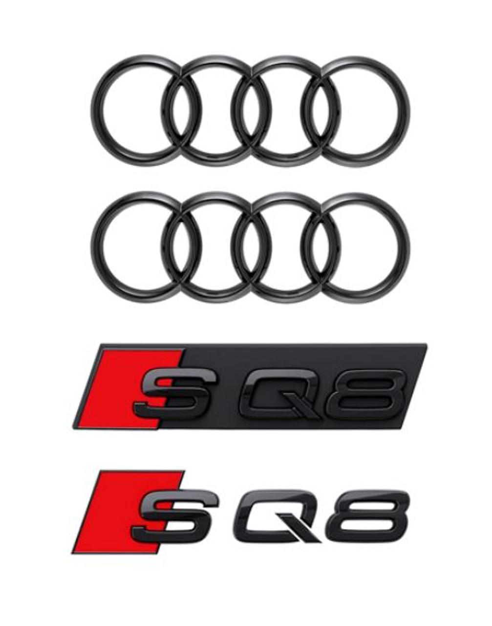 Genuine Audi Black Badge Kit - SQ8 2020+