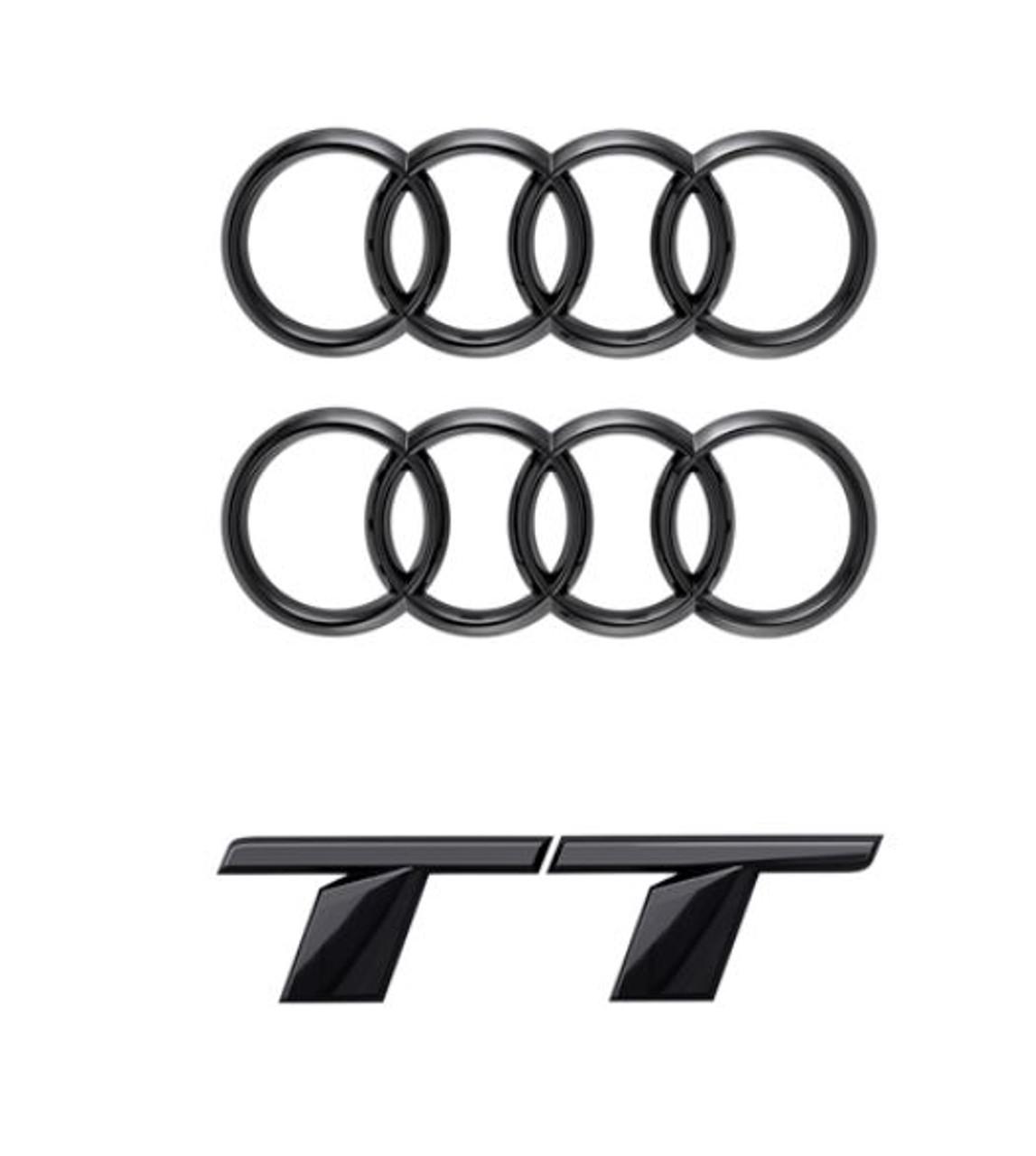 Genuine Audi Black Badge Kit - TT 2019+