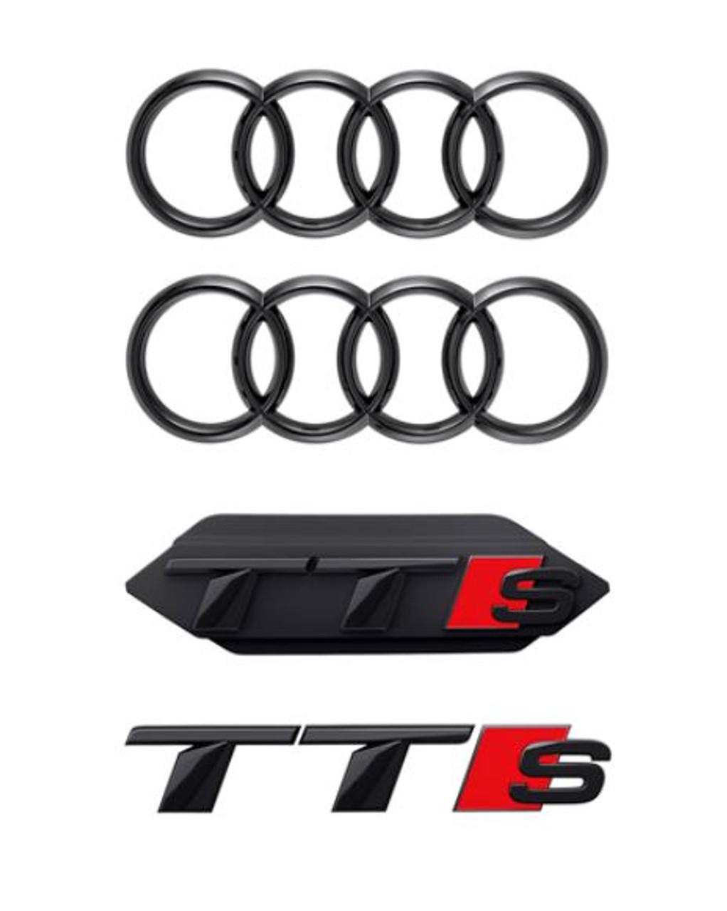 Genuine Audi Black Badge Kit - TTS 2019+