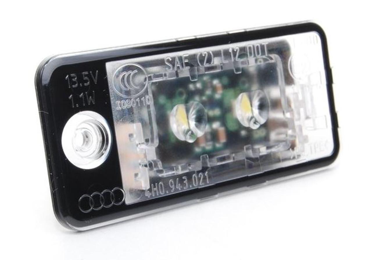 Genuine Audi LED Number Plate Lamp 4H0943021