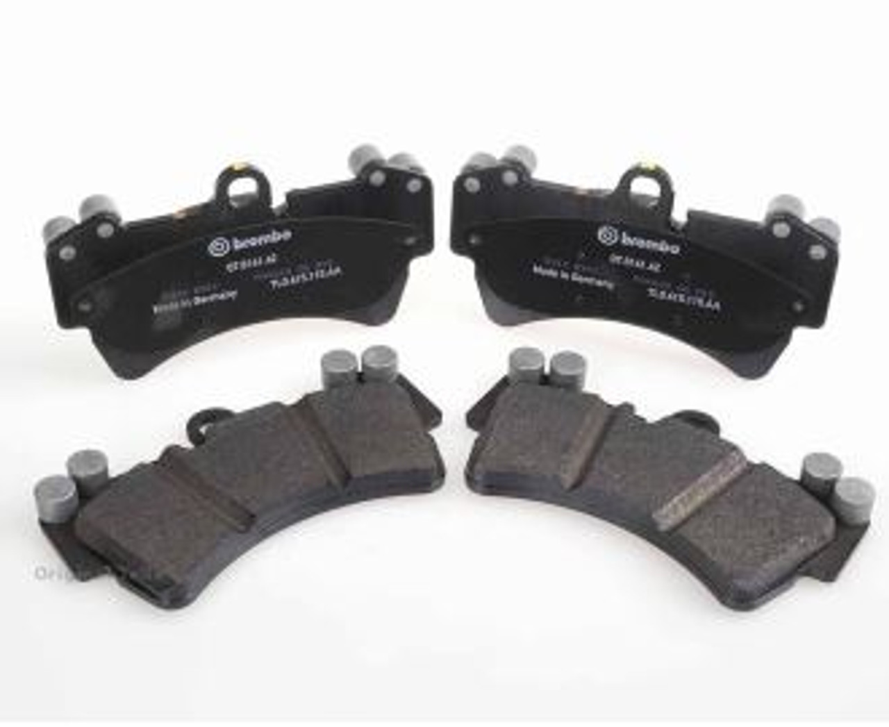 Audi Q7 Front Brake Pads With Wear Sensor Wires 7l0698151r Audi Parts Direct