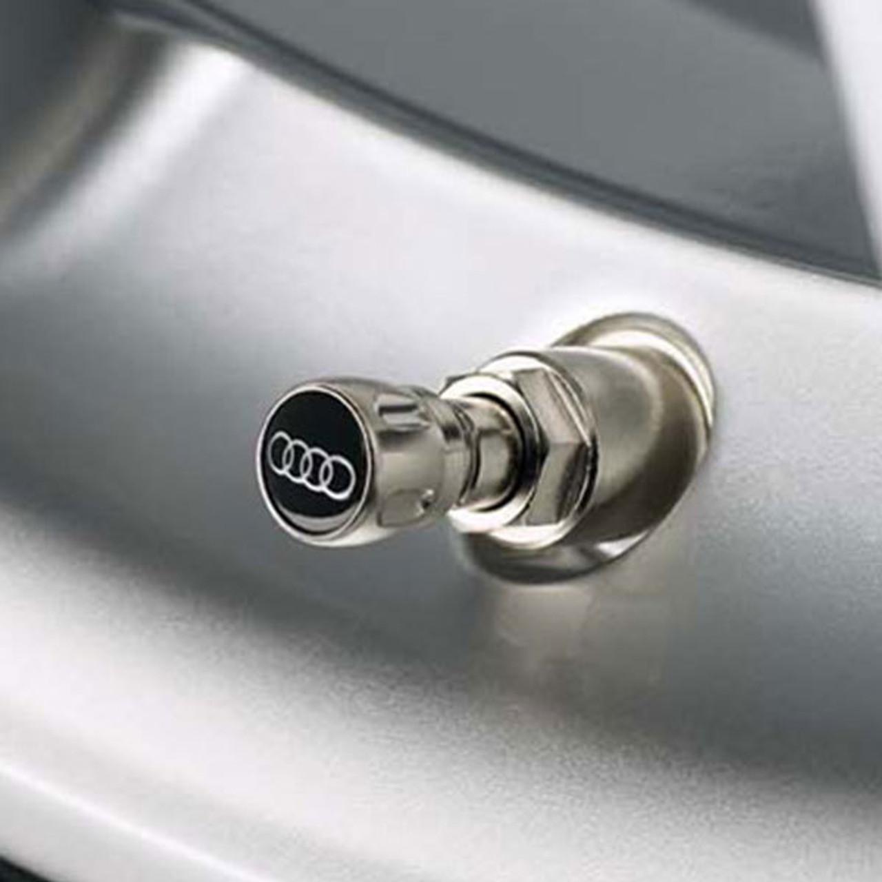 Audi Four Rings Valve Caps