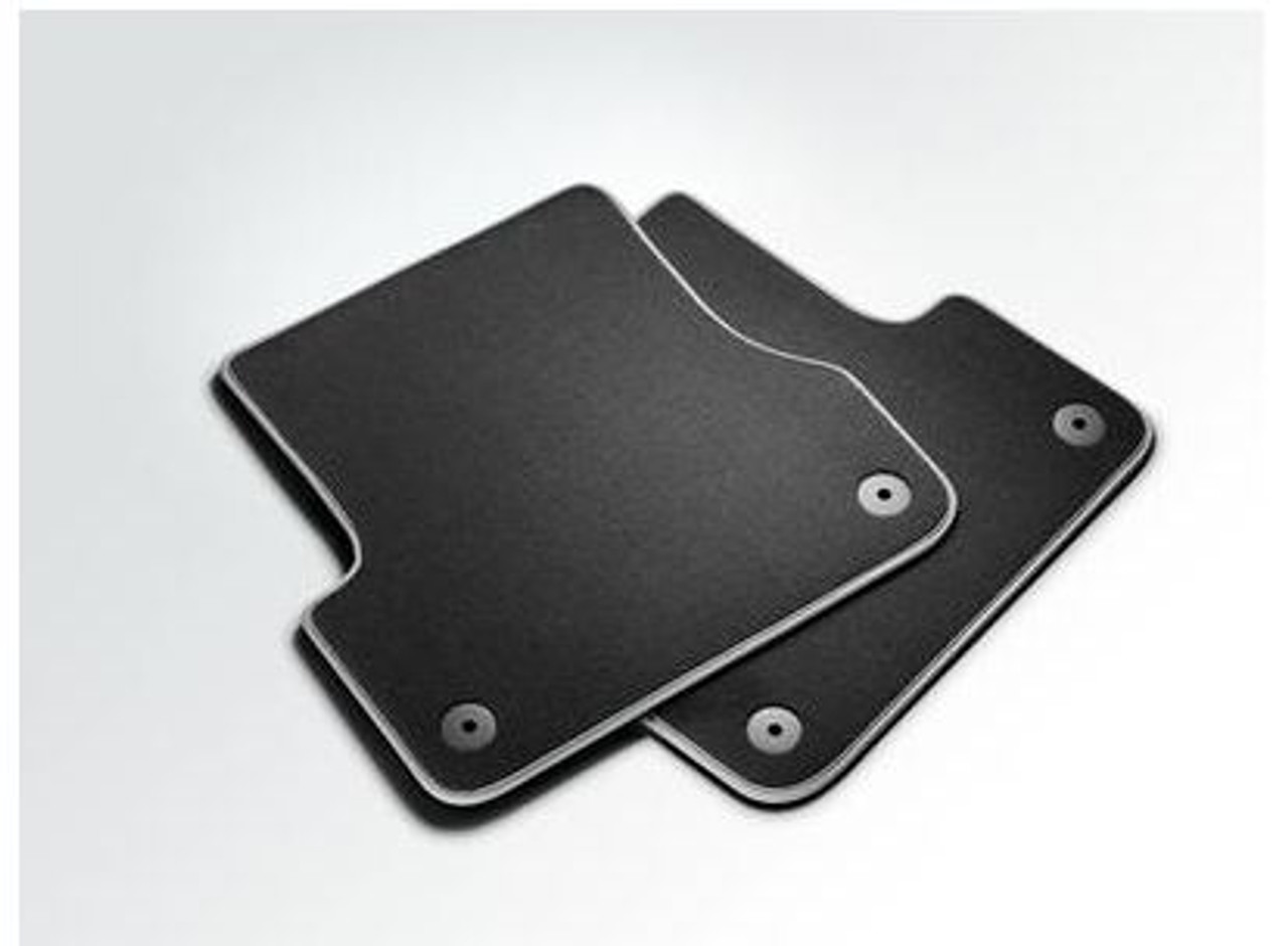 Audi A6 Rear Premium Textile Floor Mat Set