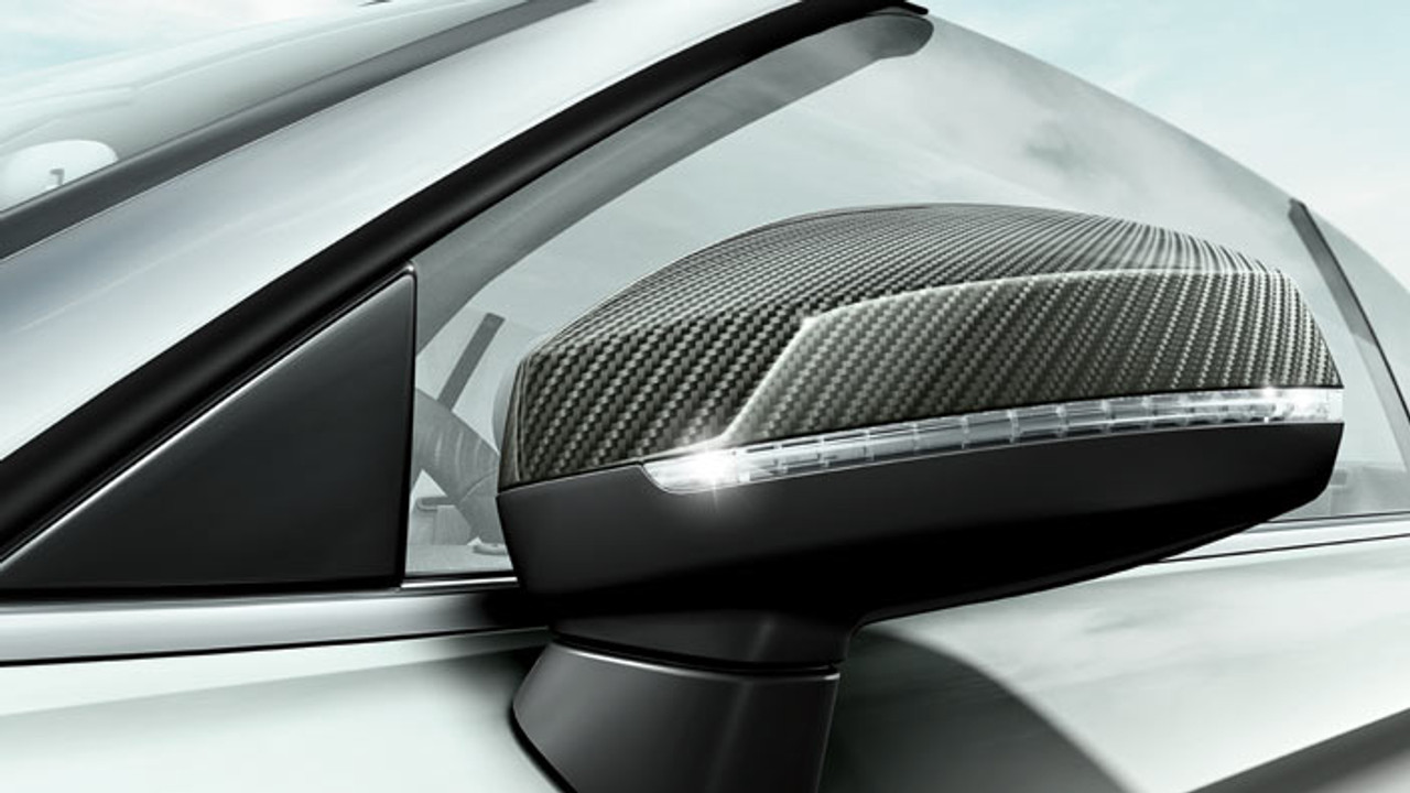 Audi A3 Carbon Wing Mirror Cover Set
