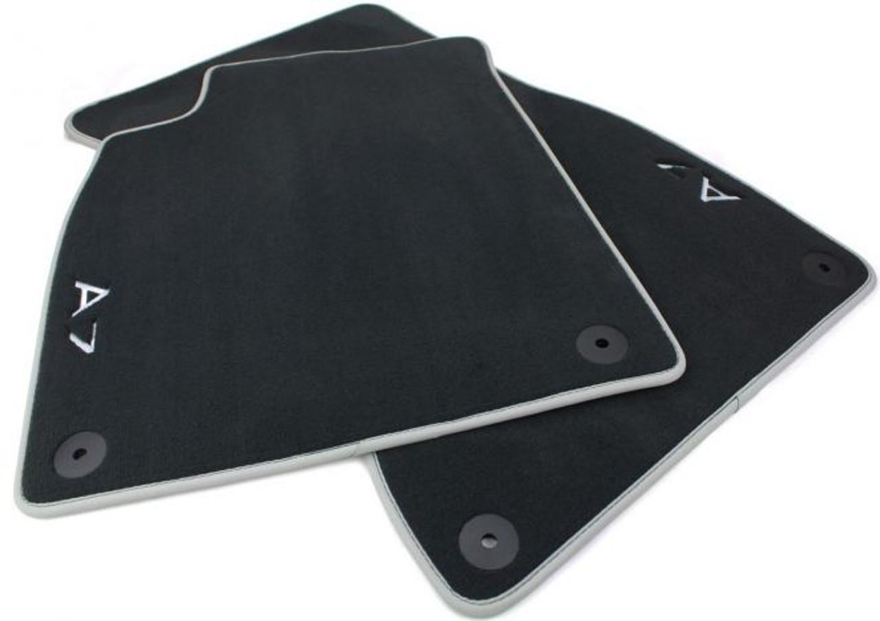 Audi A7 Front Premium Textile Floor Mat Set