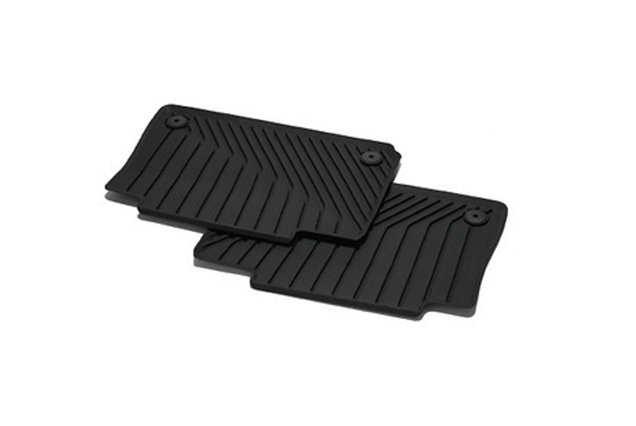 AUDI A6/A7 2019+ Rear Rubber Mat Set