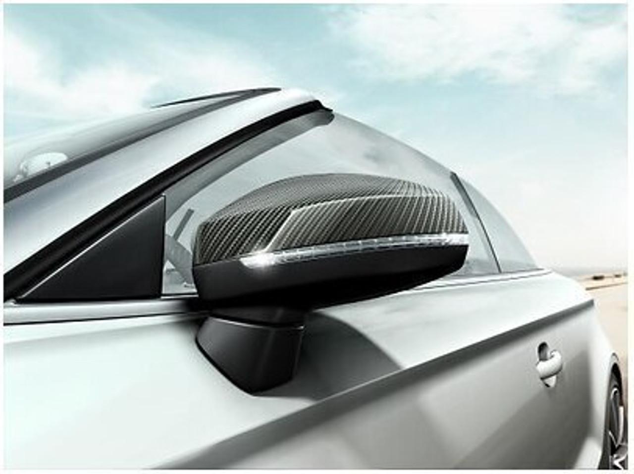 AUDI A4 8W Carbon Mirror Cap Set