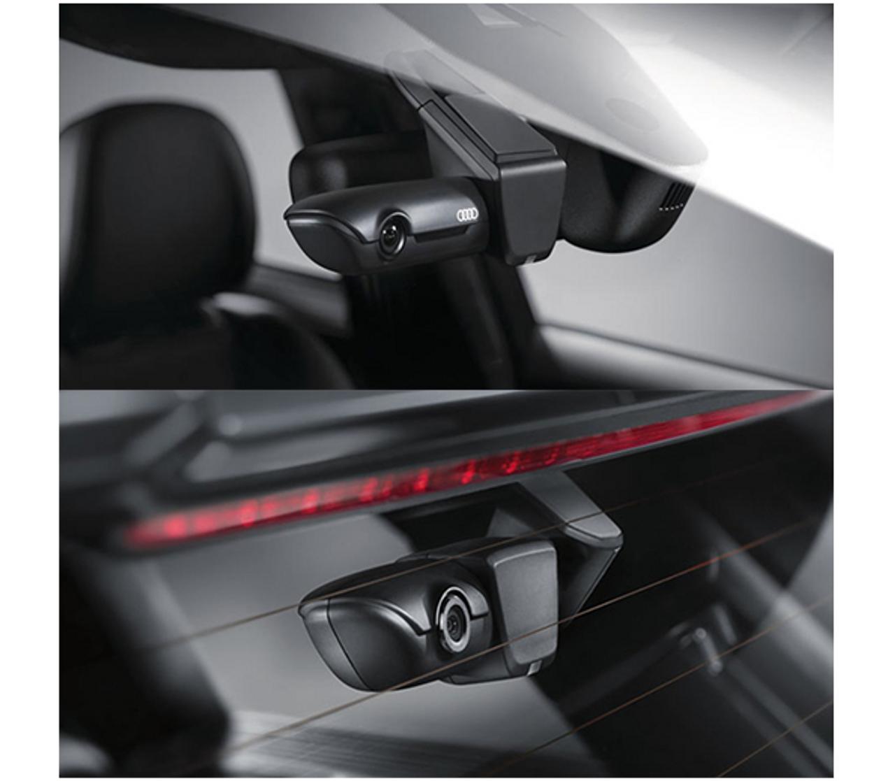 Genuine Audi Dual UTR Camera Universal Traffic Recorder  Dash Cam 4G0063511H (including wiring kit)