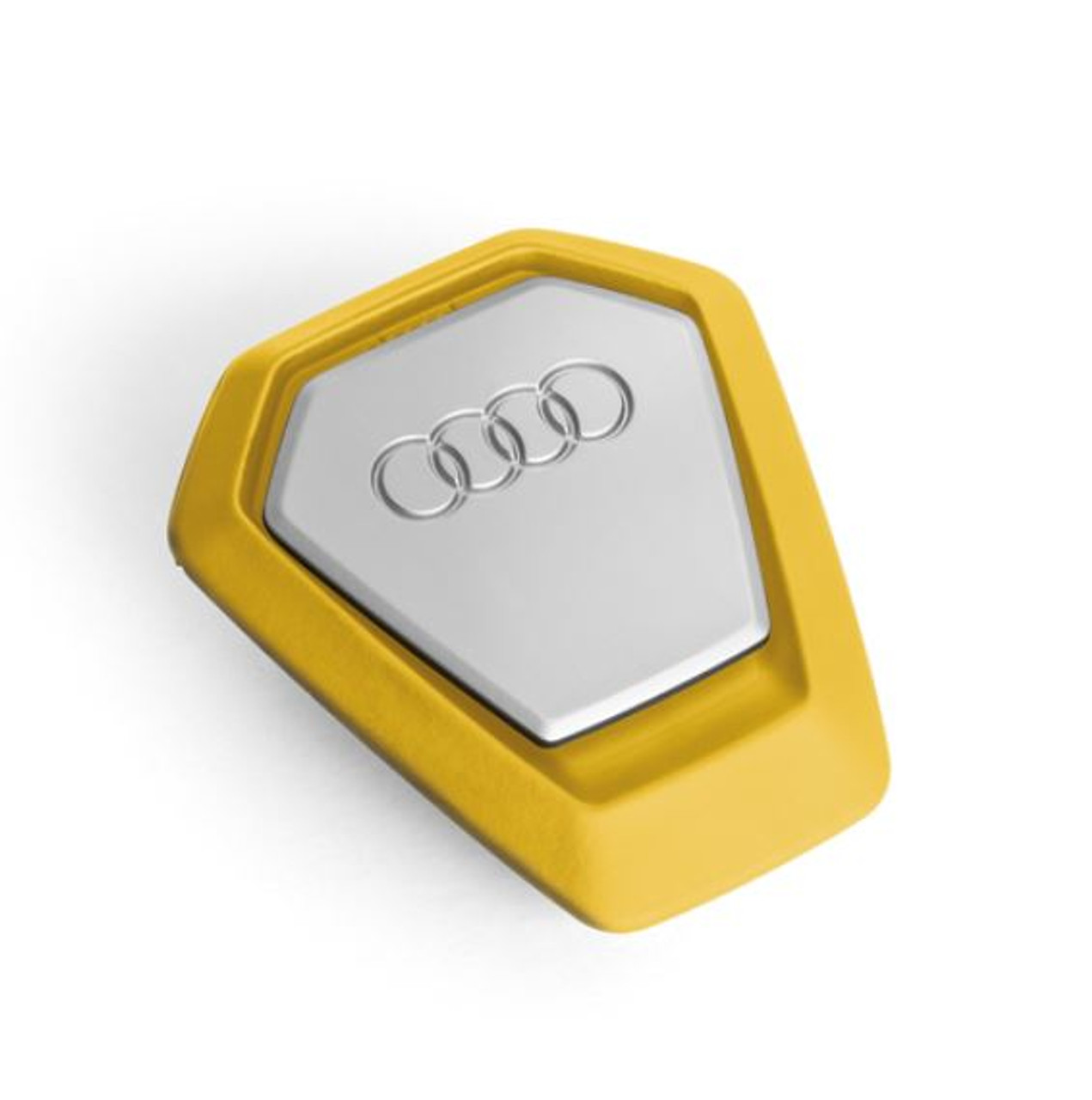 Genuine Audi Air freshener dispenser, yellow, invigorating