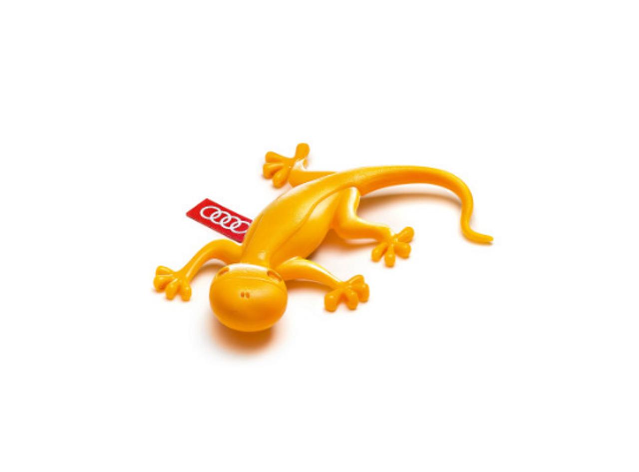 AUDI Gecko Air Freshener - Yellow
