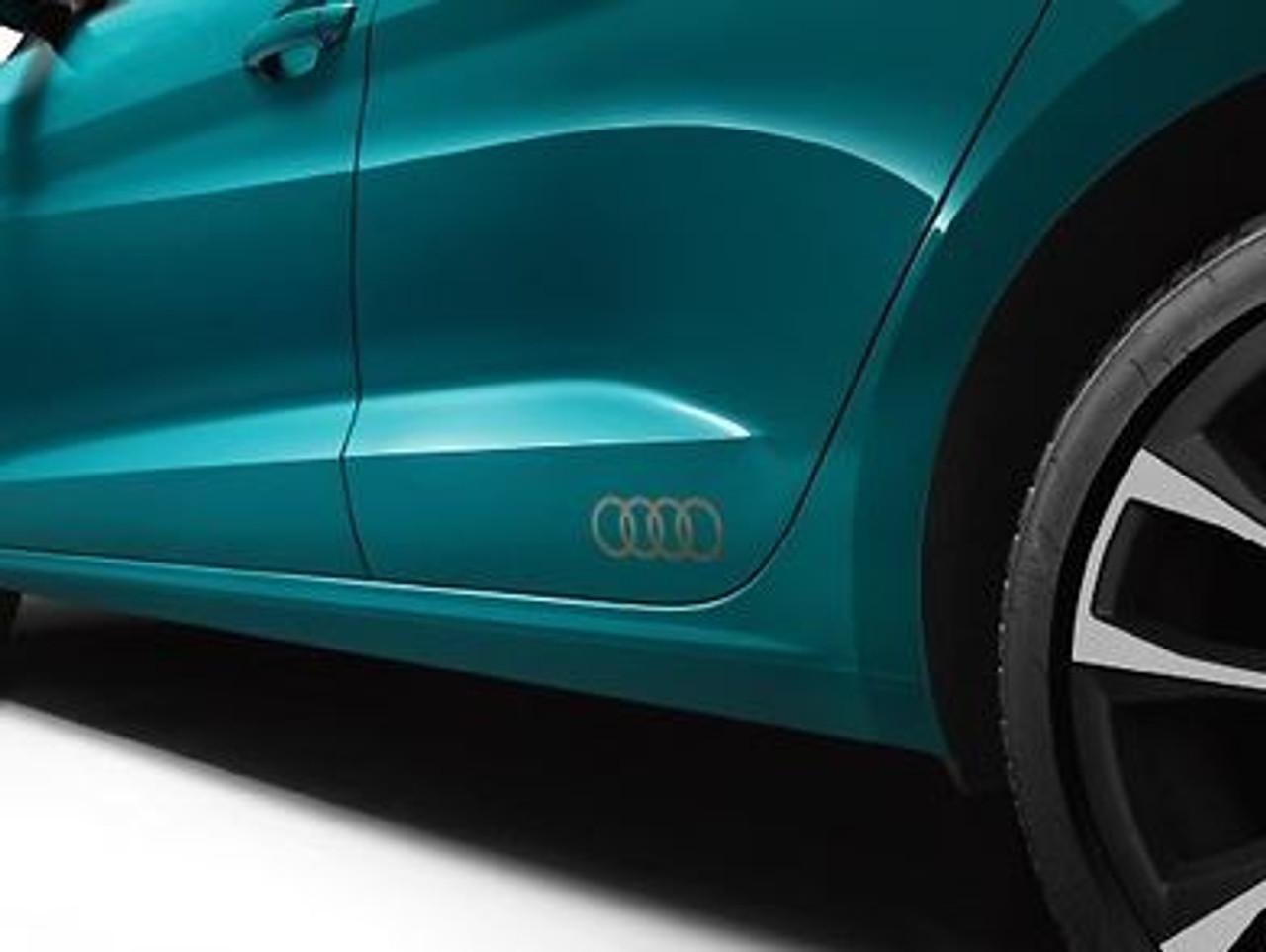 'Audi Rings' Decal Set in Matt Bronze 82A064317 50C