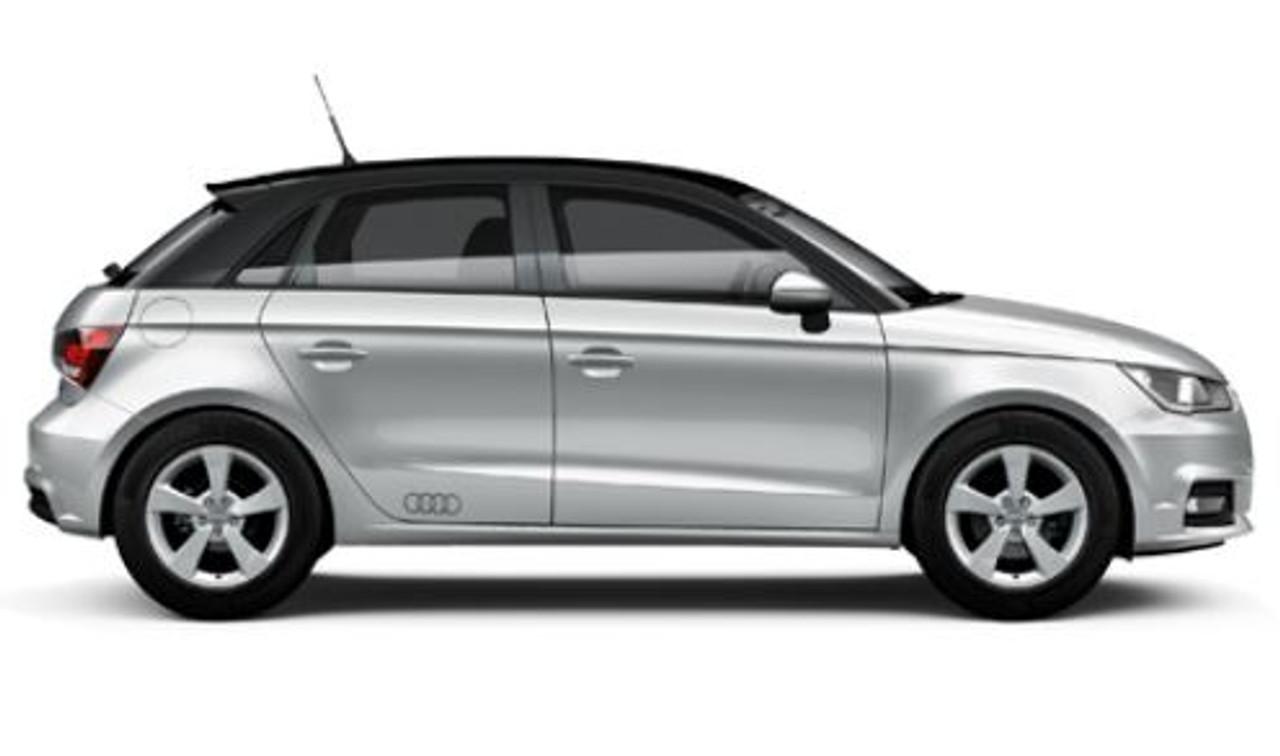 'Audi Rings' Decal Set in Matt Platinum Grey 82A064317 1RR